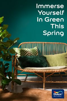 Bursting with vitality and freshness, green is the colour to go for if you're looking to energise your space.