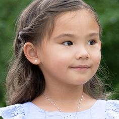 14K Yellow Gold Laser Cut Kid Girl in Heart Dress Charm Pendant