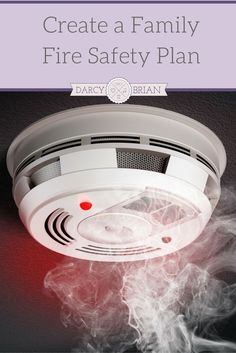 Fire Safety is a must! Do you have a fire safety plan for your family? If not, use our easy to follow tips for how to create a family fire safety plan with your kids! via @darcyz