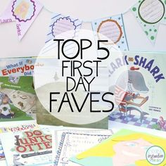 These ideas for the first day made back to school planning much easier. My students loved the third activity. The recommended read alouds and printables kept us engaged through the first few days and we kept our self portraits hanging for the first few weeks of the school year.
