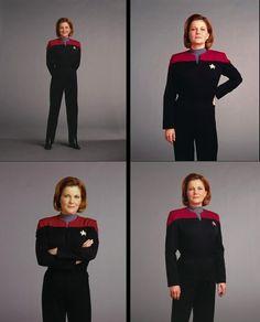 Captain Janeway (Kate Mylgrew) - TV Guide
