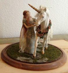 Susan Snodgrass Stephanie Blythe Unicorn Fairy Doll Signed No 5/6