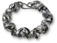 Small Ribbon Bracelet - Rina Young Jewelry