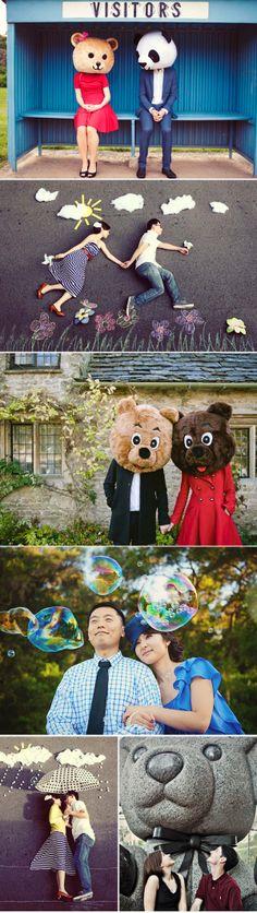 23 Fun Engagement Photos - Cute
