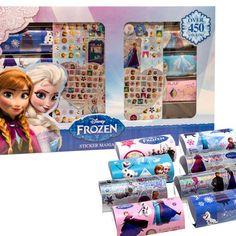 450 Disney Frozen Stickers : $11.99 + Free S/H  http://www.mybargainbuddy.com/450-disney-frozen-stickers-11-99-free-sh