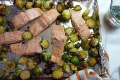 Dinner: A Love Story - Salmon And Brussels Sprouts