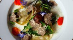 ravioles-potimaron à la truffe blanche- recette italienne