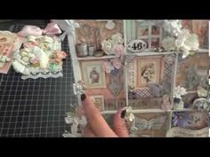 DPC Projects: Altered Printers Tray, card and tag featuring Sweet Sentiments by G45! - YouTube