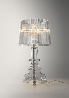 Kartell made in italy on pinterest 53 pins for Ferruccio laviani bourgie lamp
