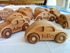 Having a daughter who loves everything with wheels, I've made a fair number of wooden toy vehicles.  Being a geek with negligible shop ski...