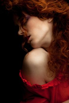Shades Of Red, Freckles, Fine Art Photography, Passion Photography, Glamour Photography, Black And White Photography, Red Hair, Lady In Red, Redheads