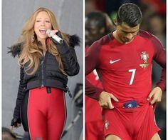 Portugalczyk ma przedziałek między nogami • Cristiano Ronaldo wygląda tak jak piosenkarka czyli nie ma jaj • Zobacz śmieszne zdjęcie >> #ronaldo #cristianoronaldo #football #soccer #sports #pilkanozna