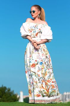 "Designer womens dresses White summer Dress. Long stylish Maxi #Dress from my collection ""Smell of summer"" off the shoulder dress maxi.  This dress perfect for summer period or your vacation. Great ... #dresses #clothing #fashion #eveningdress"