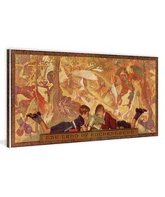 Land of Enchantment by Norman Rockwell Wrapped Canvas