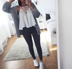 outfit, fashion, and style kép