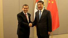China apoyará construcción de ferrocarril Brasil-Perú