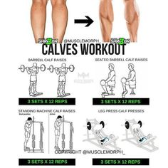 Who DOESN'T want bigger calves ‍♂️Try this workout LIKE/SAVE IT if you found this useful. FOLLOW @musclemorph_ for more exercise & nutrition tips . TAG A GYM BUDDY . ✳TRY IT with @musclemorph_ Most electrifying Pre-Workout SHR3DR available by clicking the link in our bio ➡MuscleMorphSupps.com #MuscleMorph via ✨ @padgram ✨(http://dl.padgram.com)