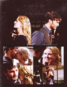 Once Upon A Time Characters | Emma Swan & Sheriff Graham - Once Upon A Time Fan Art (32835535 ...