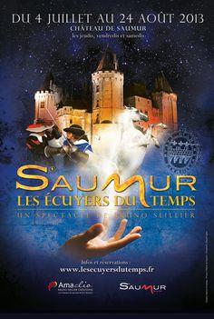"""Nouveau spectacle Sonère """"Saumur, Les Ecuyers du Temps""""."""