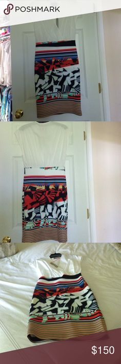 Clover Canyon dress Clover Canyon summer dress brand-new never worn with tags a great summer dress size large runs  a little small Clover Canyon Dresses Midi