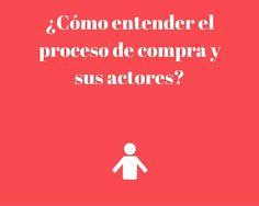 ¿Cómo entender el proceso de #compra y sus actores? http://blgs.co/bZGKEU