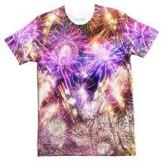 Fireworks Tee – Shelfies - Outrageous Clothing