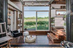 Luxus auf ganz kleinem Raum - The Alpha Tiny House…
