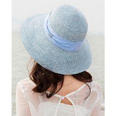 3377a98d050 Bow straw sun hat for women UV package summer beach hats