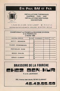 Calendrier 1985-1986 - 2ème Division - Page 30
