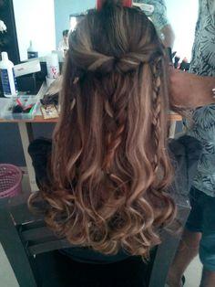 Bohemian hair style