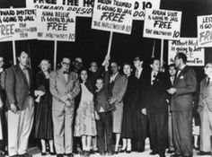 The Hollywood blacklist was the mid-20th-century list of screenwriters, actors, directors, musicians, and other U.S. entertainment professionals who were denied employment in the field because of their political beliefs or associations, real or suspected. Artists were barred from work on the basis of their alleged membership in or sympathy toward the American Communist Party, involvement in liberal or humanitarian political causes that enforcers of the blacklist associated with communism.