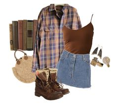 """take me back"" by silkwitch on Polyvore featuring Timberland, AURUM by Guðbjörg and Superdry"