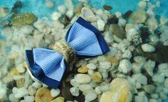 Nautical bow tie Nautical wedding Mariage от accessories482