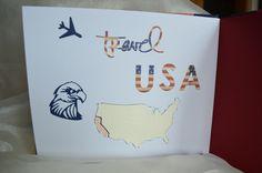 Album mit Buchschrauben, USA-Reise