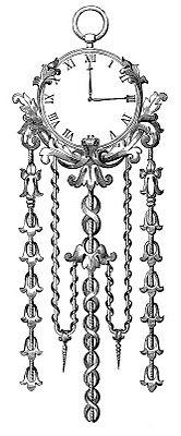 *The Graphics Fairy LLC*: Antique Clip Art Image - Ornate Clock