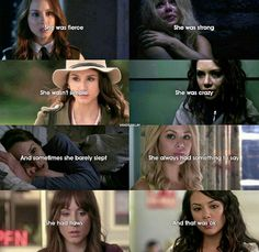Spencer or Mona? Pretty Little Liars Netflix, Preety Little Liars, Pretty Little Liars Quotes, Pll Logic, Pll Quotes, She Is Fierce, A Series Of Unfortunate Events, Best Shows Ever, At Least