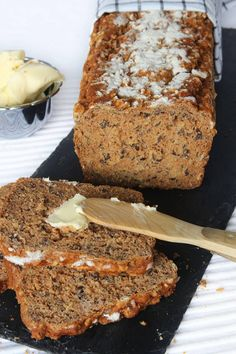 Healthy Diet Recipes, Healthy Baking, Tasty, Yummy Food, Something Sweet, Bread Baking, Food Hacks, Bread Recipes, Banana Bread