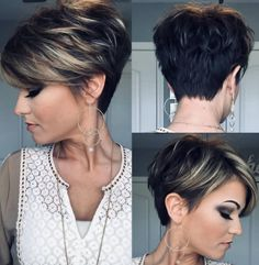 Today we have the most stylish 86 Cute Short Pixie Haircuts. We claim that you have never seen such elegant and eye-catching short hairstyles before. Pixie haircut, of course, offers a lot of options for the hair of the ladies'… Continue Reading → Short Haircuts With Bangs, Haircut For Thick Hair, Cute Hairstyles For Short Hair, Trending Hairstyles, Curly Hair Styles, Easy Hairstyles, Short Womens Hairstyles, Short Hair Cuts For Women Pixie, Layered Hairstyles