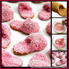 Dollar Store Crafter: Turn Nutter Butters Into Pink Fuzzy Slipper Cookies