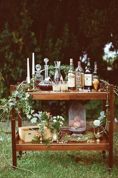 Elegante Whisky Bar  Mehr Inspirationen auf WonderWed.de