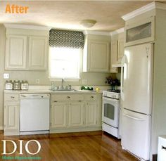 decorating ideas for white appliances in a kitchen to match countertops and flooring