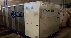 Wczoraj pomyślnie uruchomiliśmy kolejny #agregatdochłodzeniacieczy naszego dostawcy firmy #MTA. Klient - firma z branży przetwórstwa tworzyw sztucznych, po wspólnej analizie techniczno-ekonomicznej, zdecydował się na inwestycję w urządzenie z wbudowanym modułem #freecoolingu. Chiller o mocy 170kW z serii #ARIES TECH został dodatkowo wyposażony w kompletny moduł hydrauliczny ( pompa, zbiornik ).