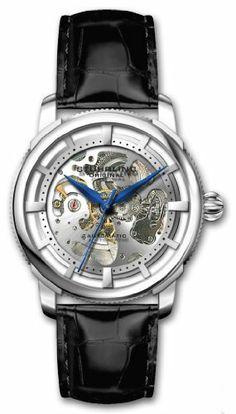 Stuhrling Original Men's 393.33152 Classic Winchester Skeleton Automatic Skeleton Silver Tone Watch Stuhrling Original. $149.00. Save 69% Off!
