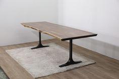주물T형  01092717876 문의 전화부탁드립니다.  table,bench, 위시본 type ,steel frame , woodslab, walnut wood slab casting leg for wood slab
