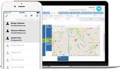 Mobile Zeiterfassung mit Apps für iPhone, Android, Windows-Phone für Arbeitszeit…