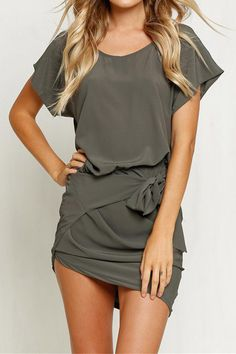 Cupshe Breeze to Death Bodycon Dress