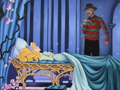Artist Rodolfo Loaiza Ontiveros is obsessed with the darker side of pop culture. Here's what it looks like when he lets loose on the Disney films we all know so well.