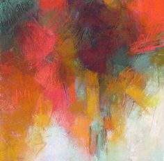 Contemporary Abstract Pastels by Debora L. Stewart   like the movement and negative space
