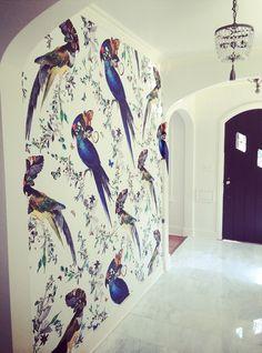 Stelly & Oscar Interior Design- Kristjana Williams wallpaper