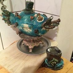 Steampunk fish   Last work @ atelier Concretivo